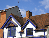 Decorative Roofing of a period property