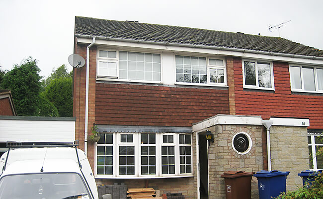 Semi detached property in the Biggleswade area